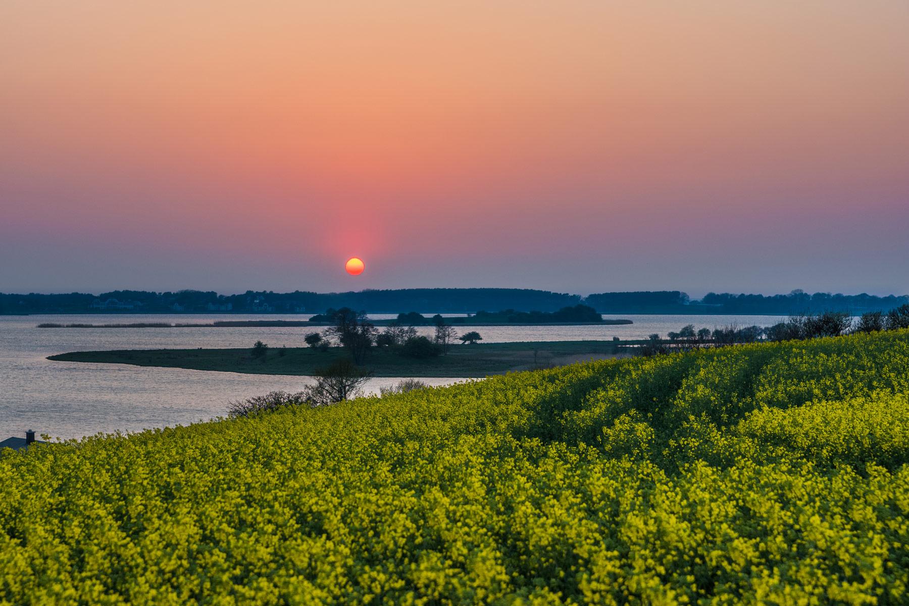 Sonnenuntergang in Neppermin