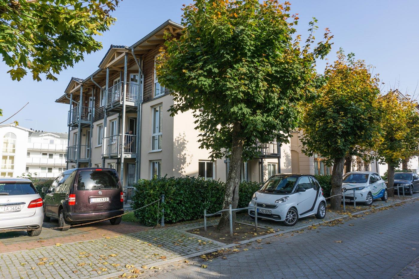 Linquenda Appartement Straßen Ansicht